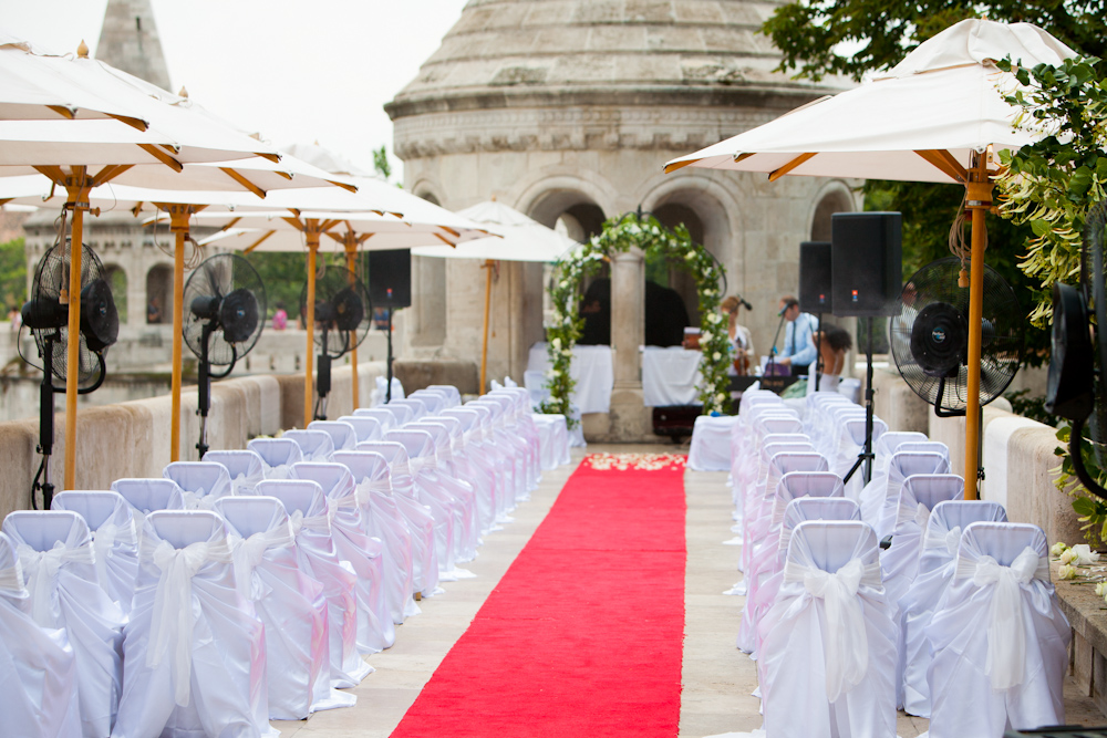Unesco world heritage wedding venue in Budapest